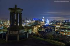 Edinburgh at Night (Damon Finlay) Tags: nikon d750 nikond750 long exposure longexposure nightphotography landscape cityscape architecture edinburgh scotland tamron 2470 f28 tamron2470f28