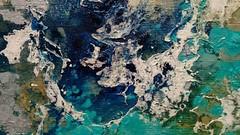"""Detalle de obra - Muestra en El Bolson (Jose Maria Casas """"two-"""") Tags: contemporary art arte contemporaneo contemporaryart artecontemporaneo abstract abstraccion abstraction el argentina patagonia bolson josemariacasas two abstracta pintura painting"""