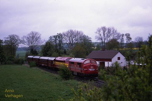1999. HFHJ MX 16 en CFL 1604 te Holmegaard