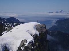 Above The Sound (21mickrange) Tags: benmore britishcolumbia britanniarange howesound furrycreekvalley cyrtinacreek mountain hiking climbing cliffs fog