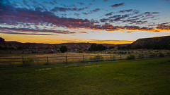 Early Morning at the Ranch (nebulous 1) Tags: earlymorningattheranch sunrise torrey utah landscape nature cowboy homestead ranch nikon nebulous1 glene machinery cabins