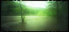 High Water (DRCPhoto) Tags: fuji pinhole westvirginia cheatriver nph400 lenslessphotography zeroimage612b