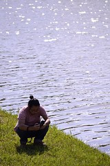 Husband :P (Giopuppy) Tags: primavera japan river spring nikon fiume may husband  shimane giappone maggio hirata izumo 2014    marito      nikond3100 d3100  momenkaido