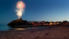 Criccieth Festival (lord wardlaw) Tags: castle beach wales north firework gwynedd criccieth