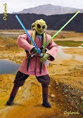 Kit Fisto (OylOul) Tags: star action figure jedi kit 16 wars sideshow fisto
