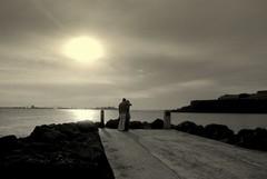 Sunset lovers (Carlos A. Aviles) Tags: sunset love atardecer couple amor ocaso