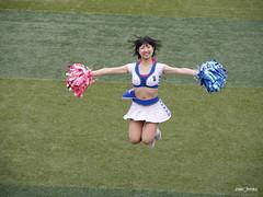 diana Kazuki / Yokohama Stadium (zaki.hmkc) Tags: jump baseball cheer kazuki  diana2014 diana denabaystars