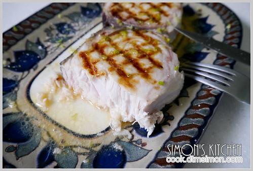 炙燒旗魚排佐檸檬奶油07