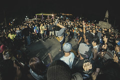 Puracalle. (borrego_002) Tags: park street plaza parque peru canon dance lima fisheye hiphop rap breakdance 8mm baile samyang rokinon puracalle2014