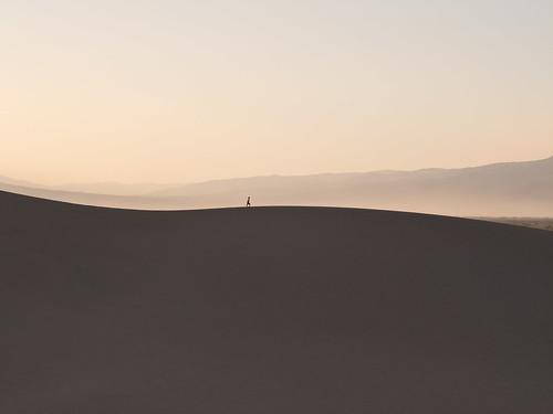Wandern auf den Wanderdünen