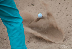 Bunker Shot (Ashey1209) Tags: sport golf sand open competition bunker golfing hoylake theopen royalliverpool