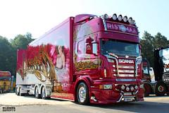 "Scania R II Topline RASTIMAA ""MADONNA"" (FIN) (magicv8m) Tags: madonna transport trans tuning lkw tir rastimaa"
