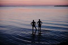 The boys (Mattias Lindgren) Tags: summer vacation 3 sweden 64 filter kodachrome archipelago 50mmf14 kodachrome64 edits öregrund filmpack nikond600 dx0 dx0filmpack3