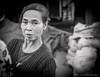 Vegetable Seller in Seririt traditional market (Luqman Agung W) Tags: street portrait bw bali face market seller pasar singaraja buleleng seririt