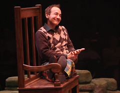 Jason Graae (Jeff Douglas) in Brigadoon, produced by Music Circus at the Wells Fargo Pavilion August 5-10, 2014. Photos by Charr Crail.