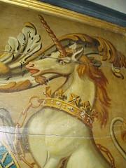 Unicorn, Binton (Aidan McRae Thomson) Tags: church painting georgian warwickshire royalarms binton
