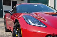 Corvette C7 Torch red