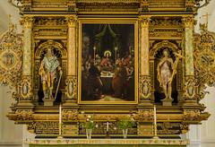The altarpiece of the medieval Sankt Petri church in Malmö (frankmh) Tags: sweden churches malmö scania altarpieces