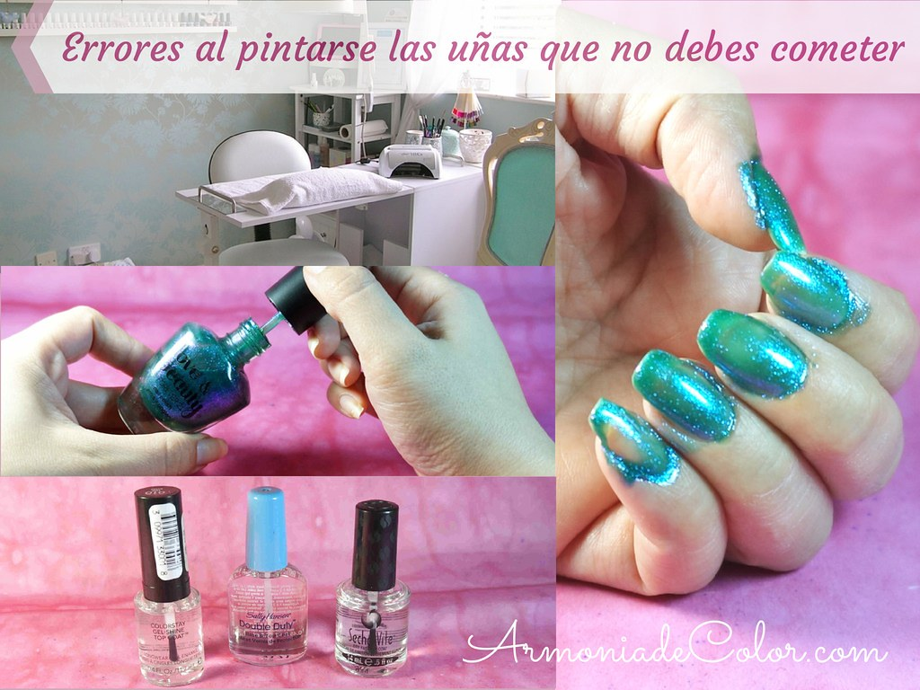 Errores al pintarse las uñas 1