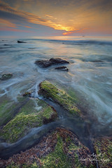 Sunrise @ Fort Fisher (Avisek Choudhury) Tags: seascape sunrise gitzo fortfisher kurebeach leefilters nikond800 singhrayreversegnd avisekchoudhury acratechballhead nikon1635mm avisekchoudhuryphotography coquinarockfortfisher