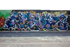 """kalasatama_280714 (6) (Helsinki street art office Supafly) Tags: streetart color art suomi graffiti helsinki colorful spray urbanart spraypaint hel kiva graffitiart """"street graffitiwall art"""" katutaide supafly graffitistreetart kalasatama kaupunkikulttuuri graffitiaita nuorisoasiainkeskus katutaideseinä"""