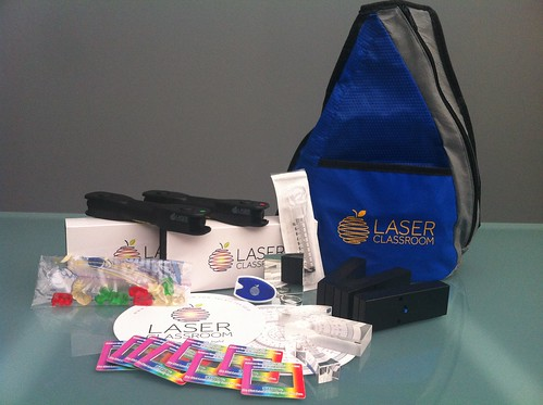 2013 Back Pack EPIC Laser Kit from Laserclassroom