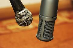 Voices (nickvrstp) Tags: zeiss studio dynamic bokeh microphone 35 akg 135mm shure condenser carlzeissjen