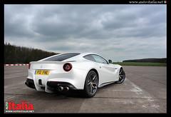 Ferrari F12 for Auto italia (michaelward_autoitalia) Tags: white ferrari supercar maranello f12 v12 bruntingthorpe autoitalia 200mph hypercar michaelwardphotos autoitaliamagazine wwwmichaelwardphotoscom wwwautoitalianet
