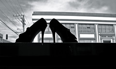 Shoes Against the World (Generik11) Tags: sf abandoned architecture clouds shoes cityscapes sfist