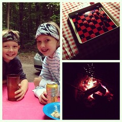 "Awesome camp food and a rousing game of checkers all capped off with a beauty fire! #griffvaca • <a style=""font-size:0.8em;"" href=""http://www.flickr.com/photos/10624169@N08/14843600125/"" target=""_blank"">View on Flickr</a>"