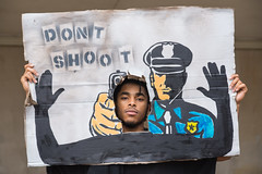 March Against Police Brutality in Atlanta, August 18th, 2014 #itsbiggerthanyou, - 2 (Steve Eberhardt) Tags: atlanta georgia march us nikon protest photojournalism demonstration handsup ferguson journalism policebrutality dontshoot michaelbrown steveeberhardt itsbiggerthanyou
