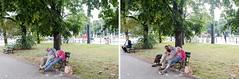 (Peter de Krom) Tags: sleeping beer drunk bench sleep double alcohol drunks warschau tweeluik