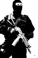 spec ops (zabielin) Tags: light urban white black soldier army us gun mask military rifle helmet hard ak police security assault special equipment armor terrorism law enforcement vest squad anti spec tactics officer lawenforcement operator swat gi weapons forces ops commando firearms armed specialforces swatteam filtered subdivision aiming tactical antiterrorism antiterror counterterrorist counterterrorism specops
