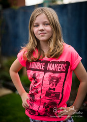 Day 225/365 - Trouble Makers (phil wood photo) Tags: birthday pink portrait girl grace 365 9yearsold day225 troublemakers project365 wheredidthetimego 3652014 stopgrowingup 13082014