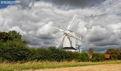 Saxtead Green Post Windmill (Nigel Blake, 17 MILLION views! Many thanks!) Tags: life england green mill windmill rural landscape countryside suffolk village post country grade ii listed framlingham saxtead nigelblake nigelblakephotography