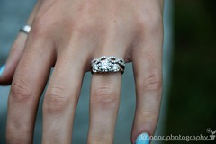 New Do (karin8700) Tags: new wedding diamonds silver engagement do hand ceremony marriage rings nails nikond7100