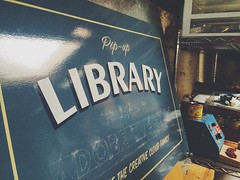 Progress (scottboms) Tags: signs library potd adobe handpainted projects signpainting 1shot typekit cityofsancarlos