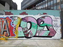 DSCN8729 (en-ri) Tags: muro verde wall writing torino graffiti 14 pack viola 209 colori bianco mena 274 2014 wesok