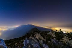 _DSC2054 (Juanvi Albiñana Esteve) Tags: mountain night star nikon tokina alicante 28 denia montgo javea d7000