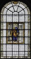 Saint Peter (Lawrence OP) Tags: paris keys stainedglass stpeter saintsulpice