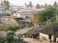 (The Glorious End) Tags: india film analog mediumformat 645 cityscape village kodak telephoto bronica etrs portra160 filmisnotdead 150mmf35 believeinfilm