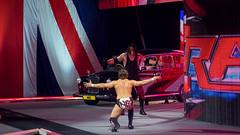 Undertaker and Daniel Bryan at Raw taping, London April 2013
