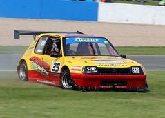 Ricky Hunn Peugot 205 (ShaunPG) Tags: park truck championship racing donnington british ricky 39 peugot 205 hunn quaife btra intermark