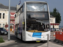Bollards to this!! (Coco the Jerzee Busman) Tags: uk bus liberty islands coach nimbus ct jersey plus dennis dart channel caetano
