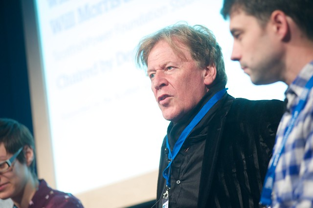IDP2043 launch event at the Edinburgh International Book Festival