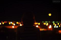 Half Moon (Valéria Dantas) Tags: city light urban moon night 50mm bokeh f18 18 upside halfmoon hight lightatnight bokehlights