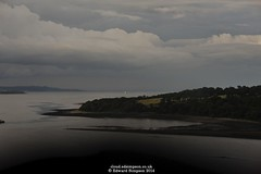 Firth of Forth (Ed.ward) Tags: scotland holiday firthofforth river water headland light field trees clouds sky 2014 nikond700 nikonafnikkor85mmf18d ce:photo=4749