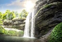 Decew Falls Panorama (davidivanov) Tags: panorama falls hdr decew