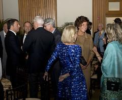 San Francisco (Stati Uniti). Il Presidente  Renzi alla Stanford University (21/09/2014)
