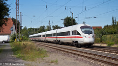 ICE heads towards Hannover at Langwedel (37001 overseas) Tags: ice train hannover db langwedel raillocomotiverailway